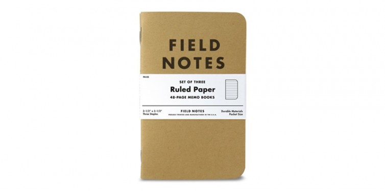 Field Notes Kraft Ruled Paper