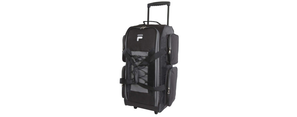 fila lightweight rolling duffel bag