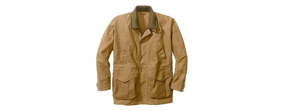 filson 10003 tin cloth packer coat