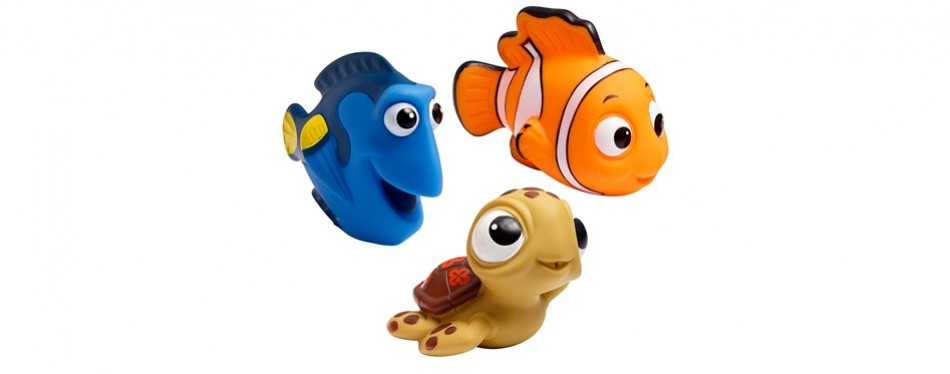 finding nemo disney baby bath toys