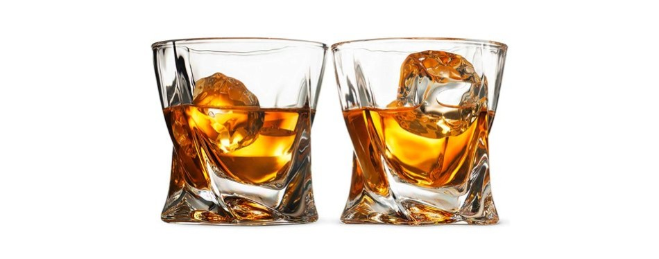 fine dine - double old-fashioned whiskey glass set