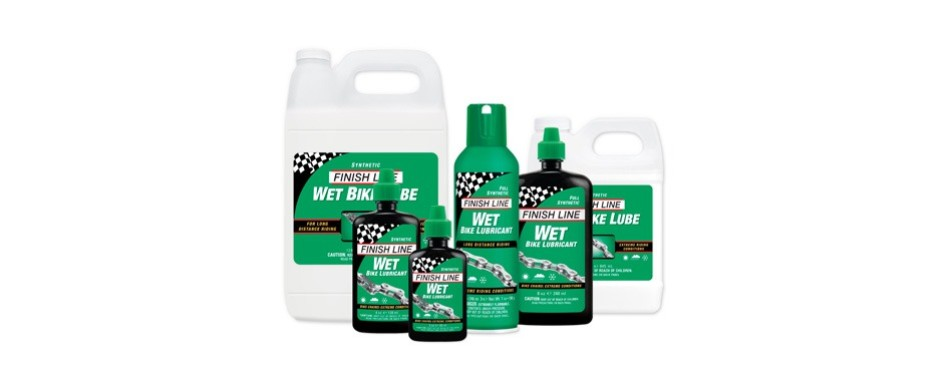 fnish line wet bicycle chain lube