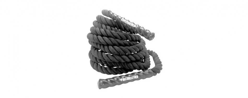fire breather battle training ropes