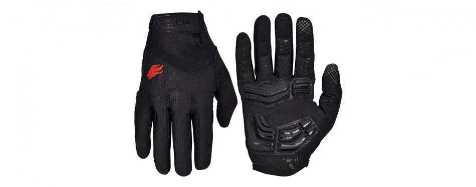 firelion gel pad cycling gloves