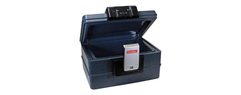 first alert waterproof fire chest