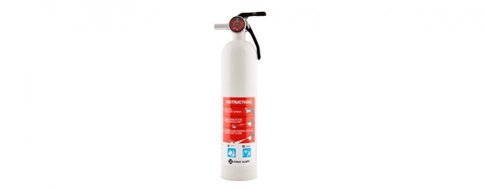 first alert fe10gr fire extinguisher white