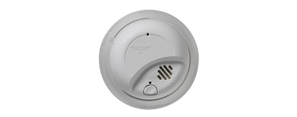 first alert smoke detector alarm