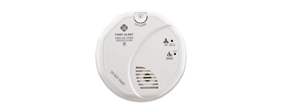first alert smoke detector and carbon monoxide detector alarm