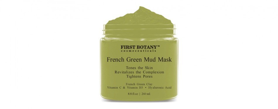 first botany french green mud mask