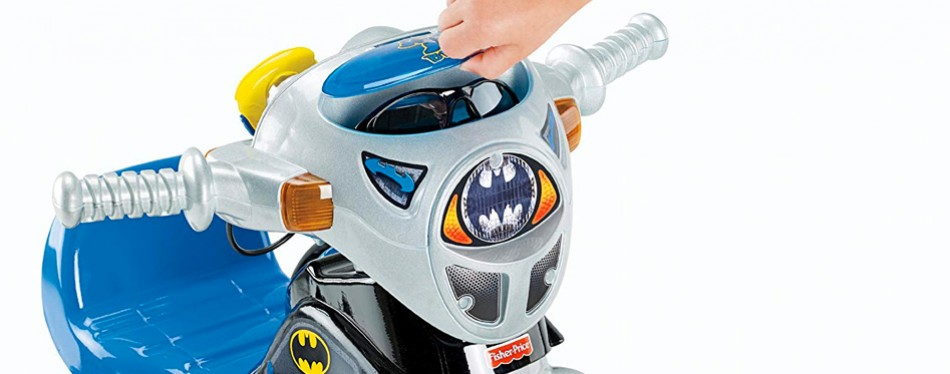 fisher price dc batman trike