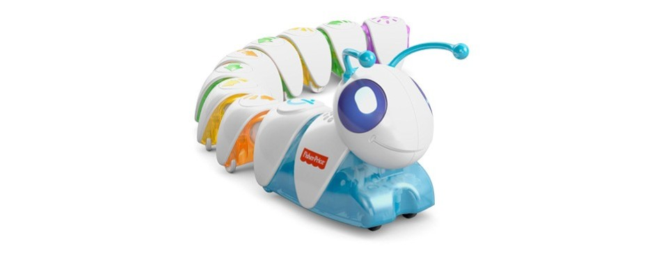 fisher-price dkt39 think and learn code-a-pillar toy