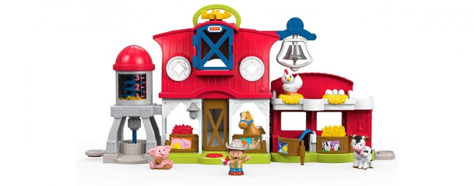 fisher price little people caring for animals farm