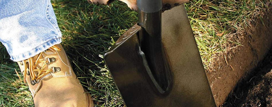 fiskars 46 inch steel d-handle square garden spade