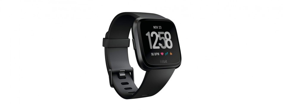 fitbit versa smart watch sleep tracker