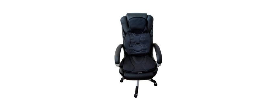 five s fs8812 10-motor vibration massage seat cushion