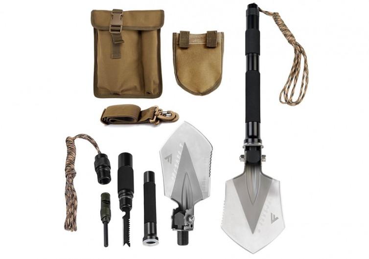 FiveJoy Folding Shovel Multi Tool