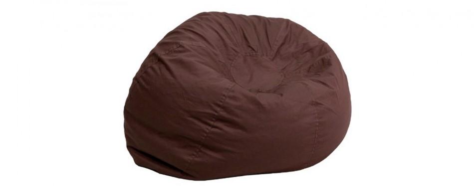 flash furniture oversized bean bag chair