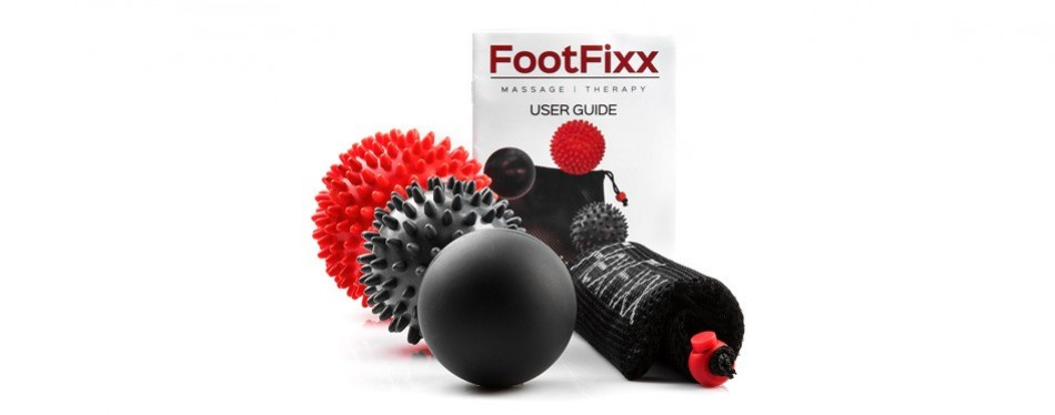 flexfixx massage ball therapy set