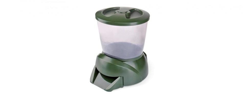 flexzion automatic fish food feeder