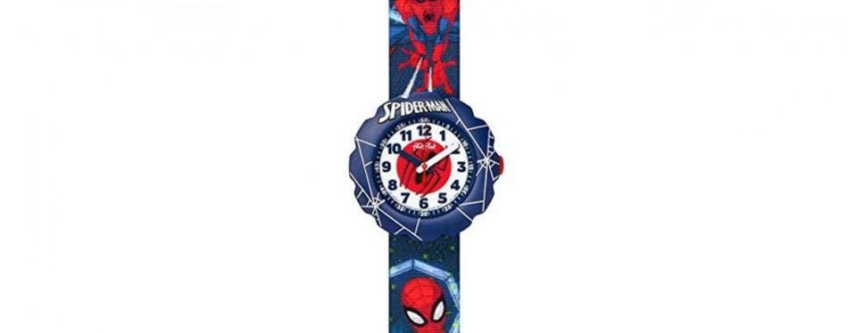 flik flak spiderman in action watch