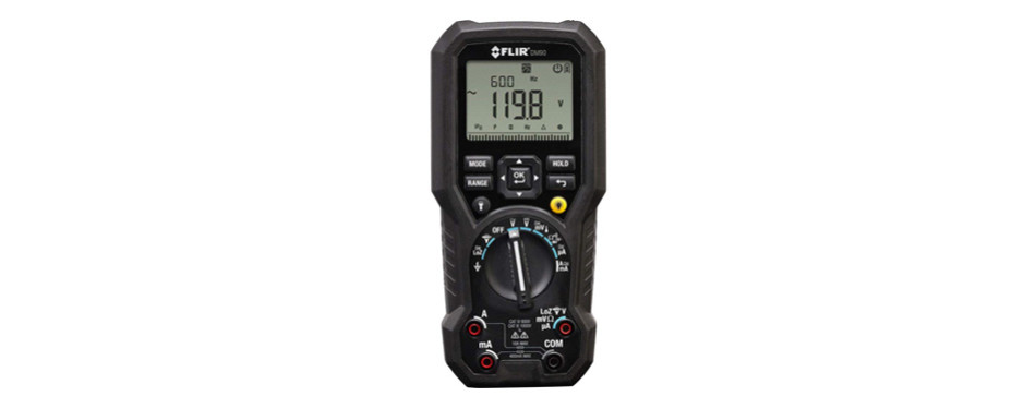 flir dm90 true rms industrial multimeter