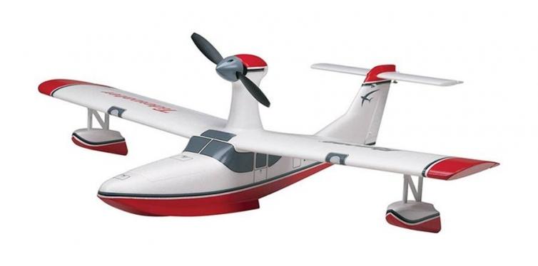 flyzone tidewater electric rc seaplane