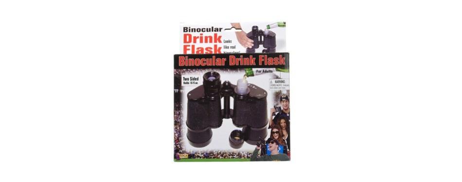 forum novelties 52943 double sided binocular flask