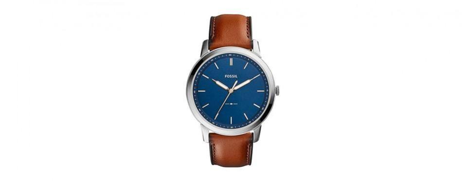"fossil's ""the minimalist"" watch"
