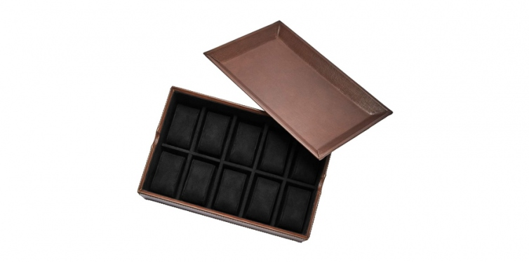 fossil 10-piece valet box