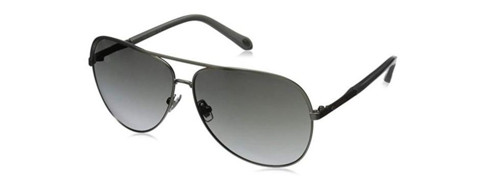 fossil fos3054s aviator sunglasses