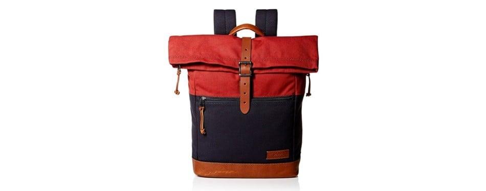 fossil men's defender rolltop backpack