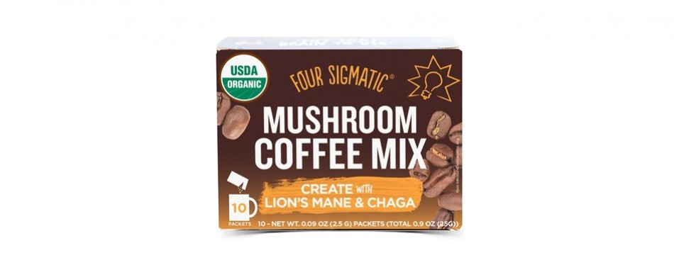 four sigmatic mushroom instant coffee mix
