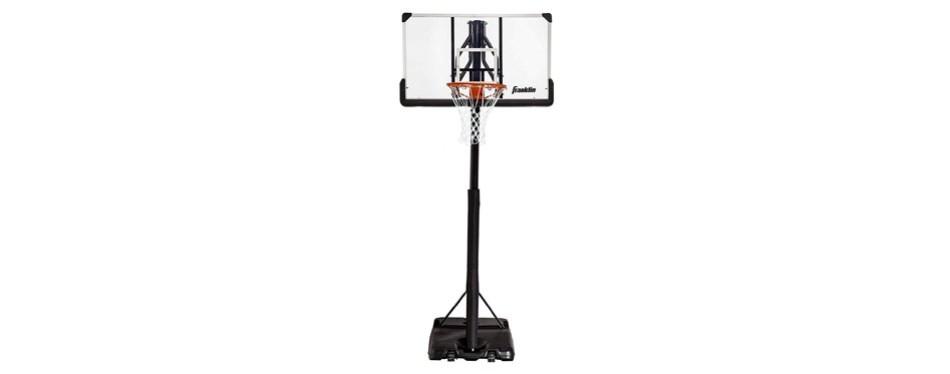 franklin sports adjustable basketball hoop system