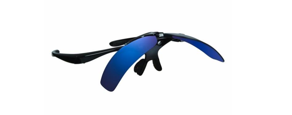 franklin sports mlb deluxe flip up sunglasses