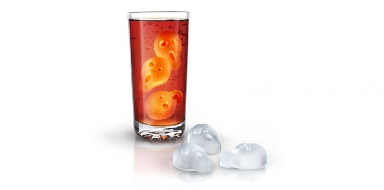Fred & Friends ICE SCREAMS Terrifying Ice Tray