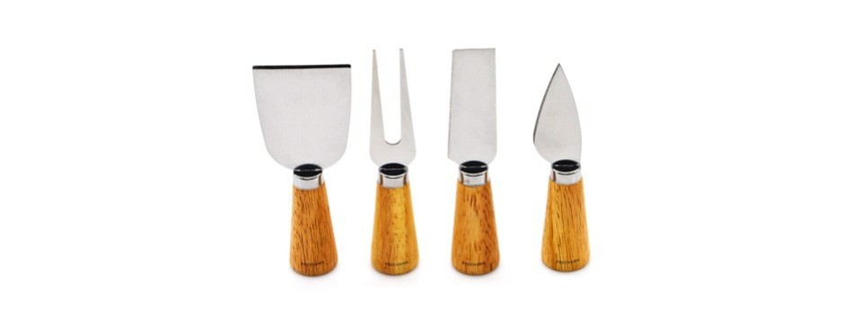 freehawk four-piece cheese knife set
