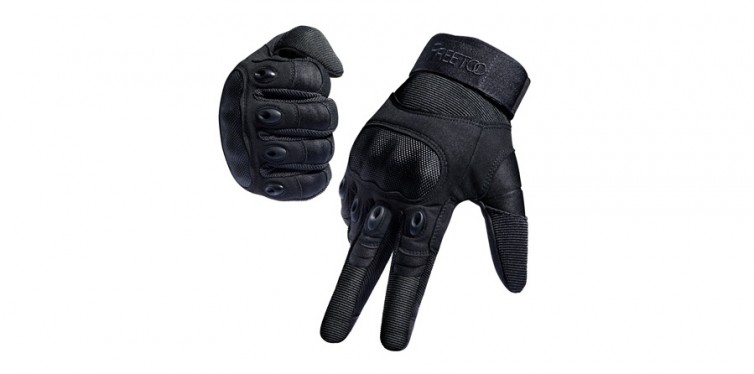 freetoo tactical rubber knuckle gloves