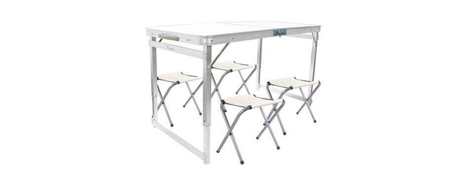 frenzybird folding table with chairs