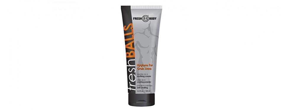 fresh balls hair removal cream for men