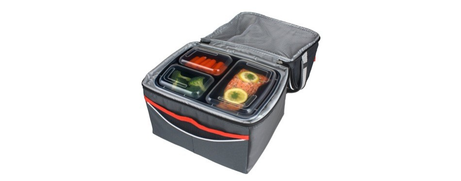 freshware bento style 15 pack meal containers