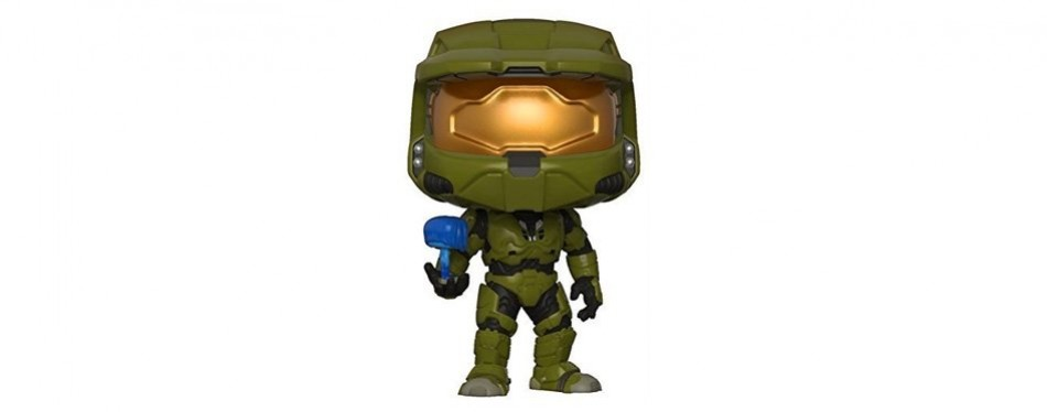 funko pop! halo master chief with cortana collectible figure
