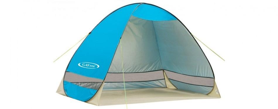 g4free cabana beach tent
