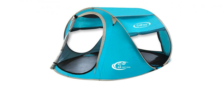 g4free large pop-up tent