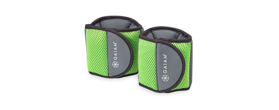 gaiam fitness 5lb ankle weights