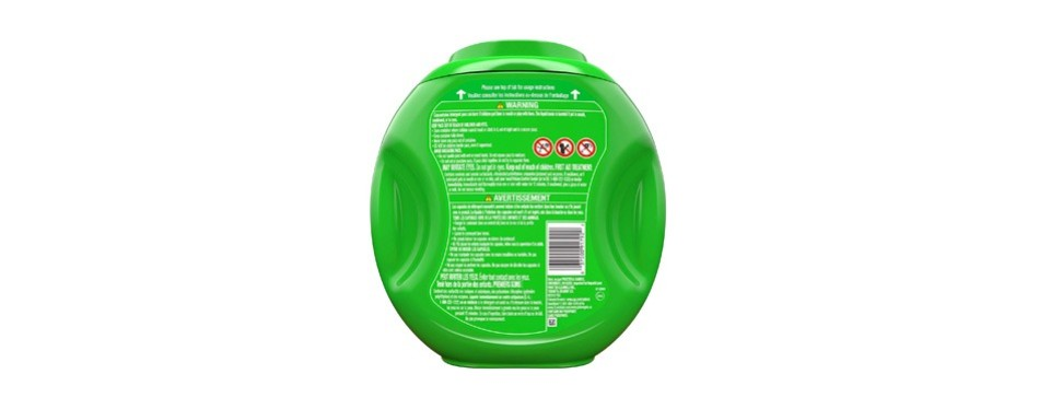 gain flings! liquid laundry detergent pacs