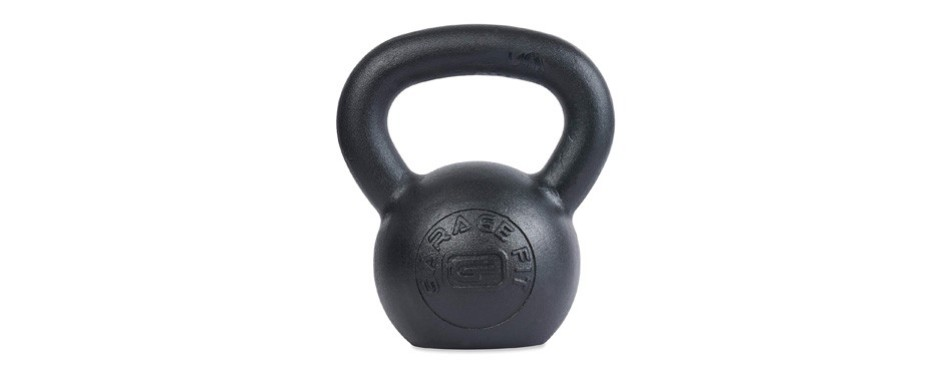 garage fit powder coated kettlebell