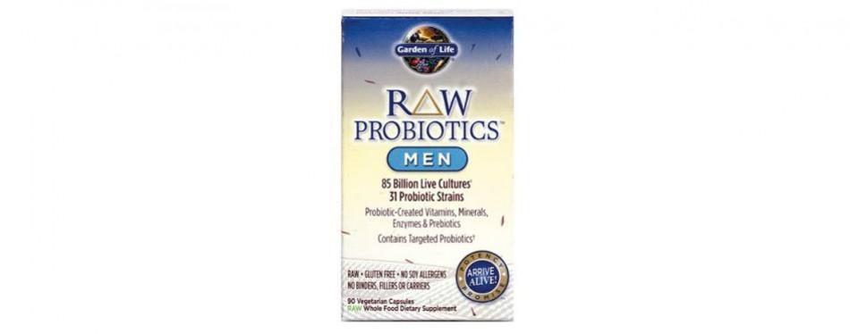 10 best probiotics for men in 2019 buying guide - Garden of life raw probiotics men ...