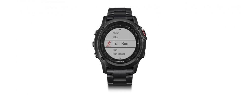 garmin fenix 3 hr special edition titanium watch