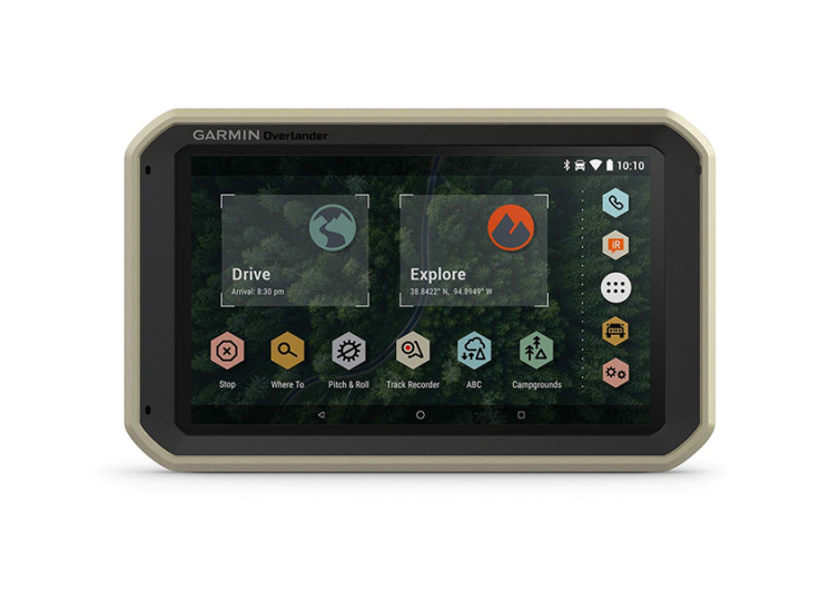 garmin overlander rugged gps