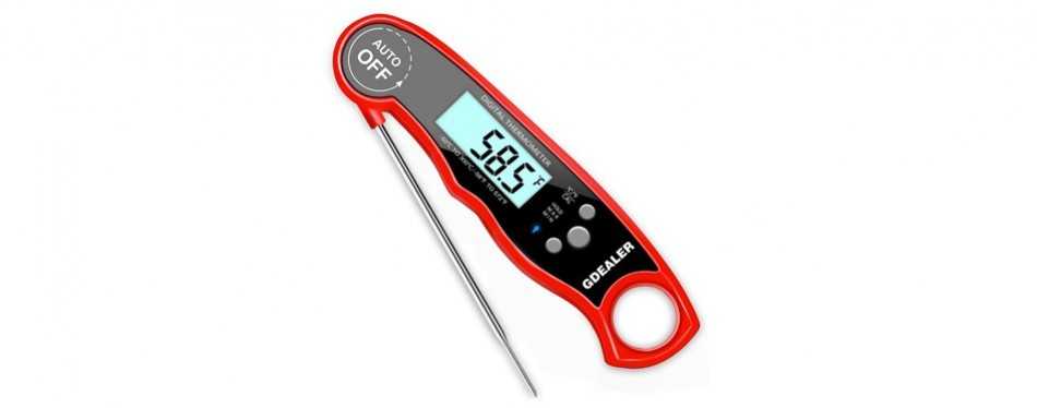 gdealer dt09 waterproof digital instant read meat thermometer